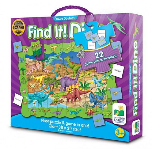 The Learning JourneyPuzzle Doubles, Find It! Dinosaurs