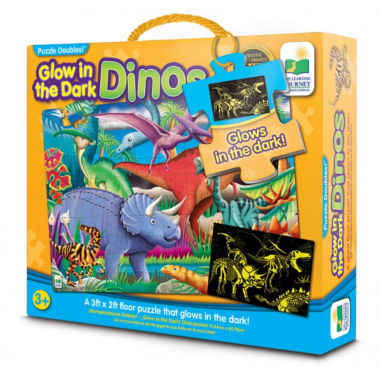 jcpenney.com | The Learning JourneyPuzzle Doubles, Glow In The Dark, Dino