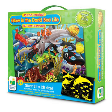 jcpenney.com | The Learning JourneyPuzzle Doubles, Glow In The Dark, Sea Life