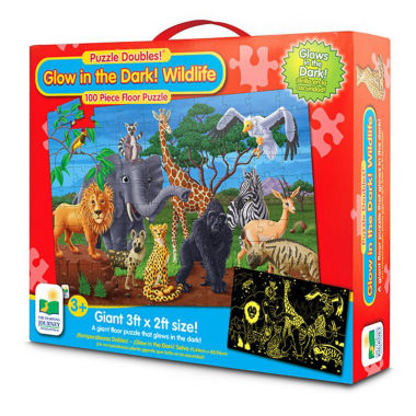 jcpenney.com | The Learning JourneyPuzzle Doubles, Glow In The Dark, Wildlife