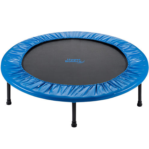 """Upper Bounce® 40"""" Mini 2 Fold Rebounder Trampoline with Carry-on Bag Included"""