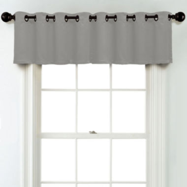 jcpenney.com | JCPenney Home Matte Satin Grommet Unlined Tailored Valance