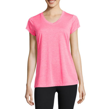 jcpenney.com | Xersion™ Quick-Dri Short-Sleeve Melange Tee