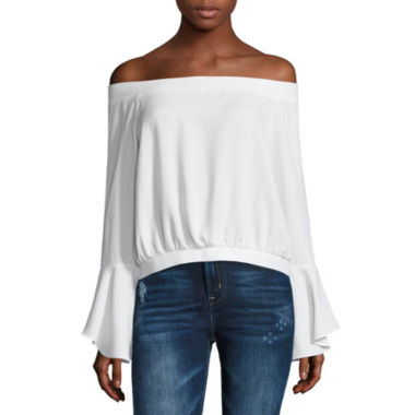 jcpenney.com | i jeans by Buffalo Bell Sleeve Top