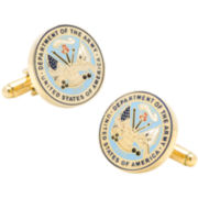 Army Insignia Cuff Links