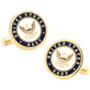 Navy Insignia Cuff Links