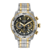 Citizen® Eco-Drive™ Primo Stingray Mens Black Ion Two-Tone Chronograph Watch