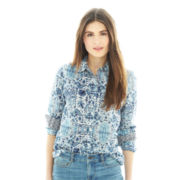 Joe Fresh™ Print Button-Front Shirt