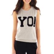 Olsenboye® Dylan Sleeveless Muscle Yo! Sweatshirt