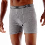 Hanes® 3–pk. Cotton Boxer Briefs–Big & Tall