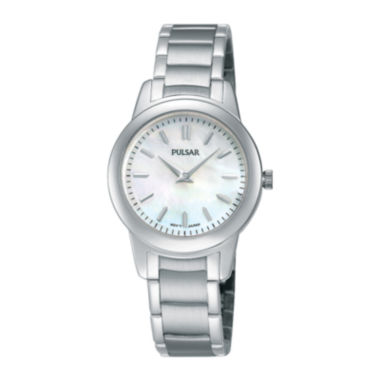 jcpenney.com | Pulsar® Womens Stainless Steel Bracelet Watch PRW011