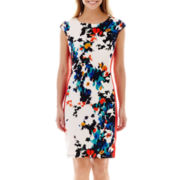 RN Studio by Ronni Nicole Sleeveless Floral Print Dress