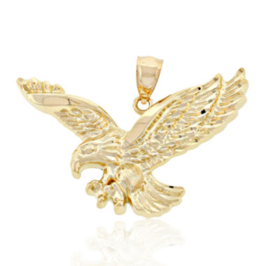 jcpenney.com | Mens 14K Yellow Gold Eagle Pendant