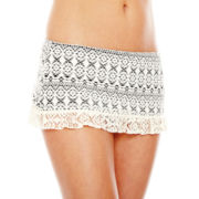 Bisou Bisou® Crochet Skirted Swim Bottoms