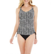 Maidenform Underwire Tankini Swim Top or Adjustable Bottoms
