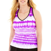 ZeroXposur® Racerback Tankini Swim Top - Plus