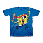 Spongebob Graphic Tee – Toddler Boys 2t-5t