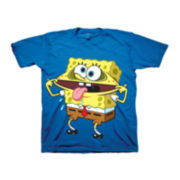 Spongebob Graphic Tee – Preschool Boys 4-7