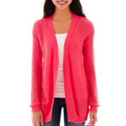 Arizona Long-Sleeve Pointelle Cardigan