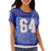 Arizona Short-Sleeve Lace Football Tee
