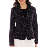 Liz Claiborne® One-Button Jacket