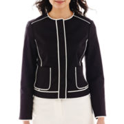 Liz Claiborne® Piped Jacket