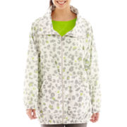 Liz Claiborne® Animal Print Anorak Jacket