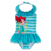 Disney Collection Ariel Swimsuit – Girls 2-10