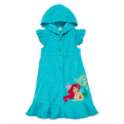 Disney Collection Ariel Cover Up – Girls 2-10