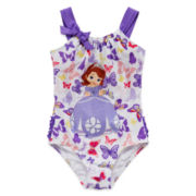 Disney Collection Princess Sofia Swimsuit – Girls 2-10