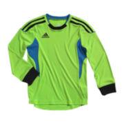 adidas® Long-Sleeve Performance Jersey Tee – Boys 4-7x