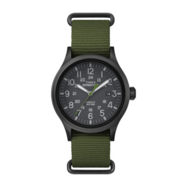 jcpenney.com | Timex® Expedition Scout Mens Green Fabric Strap Watch