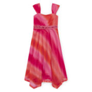Speechless® Beaded Ombre Sharkbite Dress - Girls 7-16