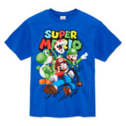Nintendo® Mario Group Tee - Boys 8-20