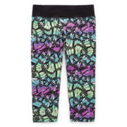 Xersion™ Printed Yoga Capris - Girls 7-16 and Plus