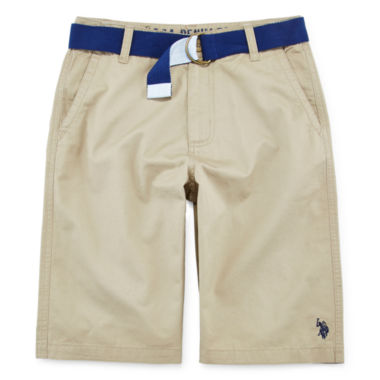 jcpenney.com | U.S. Polo Assn.® Twill Shorts - Boys 8-18