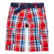 U.S. Polo Assn.® Plaid Cargo Shorts - Boys 8-20