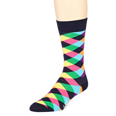 jcpenney.com | HS® by Happy Socks Mens Crew Socks