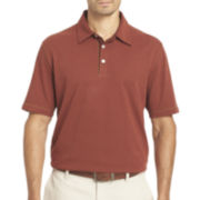 Van Heusen® Short-Sleeve Popcorn Knit Polo Shirt