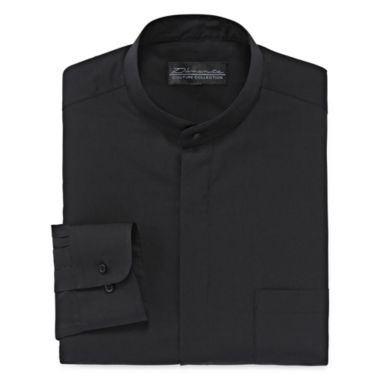 jcpenney.com | D'Amante Banded-Collar Long-Sleeve Dress Shirt
