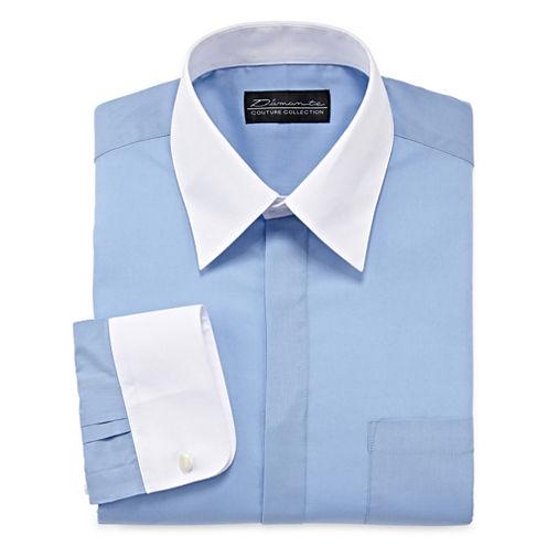 D'Amante Contrast Dress Shirt - Big & Tall