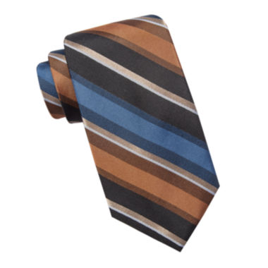 jcpenney.com | Collection by Michael Strahan Striped Silk Tie