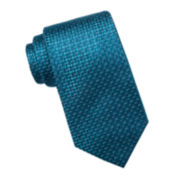 Collection by Michael Strahan Texture Solid Silk Tie - Extra Long