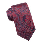 Collection by Michael Strahan Paisley Silk Tie - Extra Long