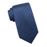 Collection by Michael Strahan Allen Floral Dot Silk Tie - Extra Long