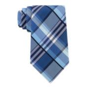 Stafford® Creekside Plaid Silk Tie - Extra Long