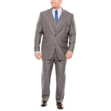jcpenney.com | JF J. Ferrar® Sharkskin Suit Separates - Big & Tall