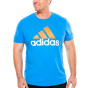adidas® Logo Tee - Big & Tall