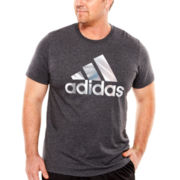 adidas® Logo Morray Tee - Big & Tall