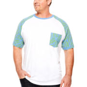 The Foundry Supply Co.™ Raglan Tee - Big & Tall
